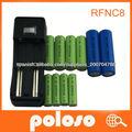 AAA, RFNC8 cargador de batería de litio universal cargador de batería recargable