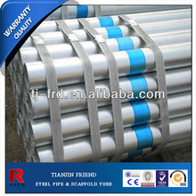 Hot dipped galvanized pipes/bs1387/bs1139/en39