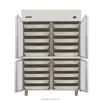 four doors refrigerator with large capacity,Stainless steel 304 door of refrigerator