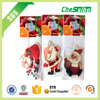 Hanging Custom Father Christmas shape paper air freshener/Christmas gifts of paper air freshener