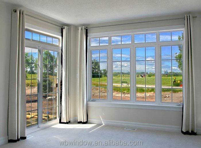 buen diseo de pvcupvc ventanas basculantes abatibles ventanas de vidrio con bares de