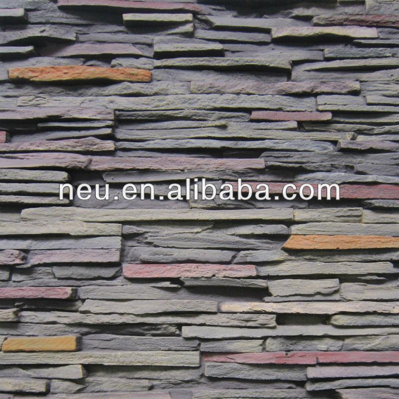 Styrofoam Rock Panels : Wall decorative panel foam stone artificail rock