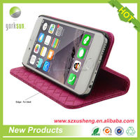 Mobile phone leather case for iphone 6