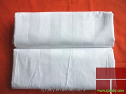 2015 new products 1cm 3cm custom white cotton sateen fabric