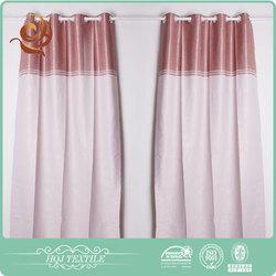 Designs curtain supplier Decorative Luxury Polyester window curtains print