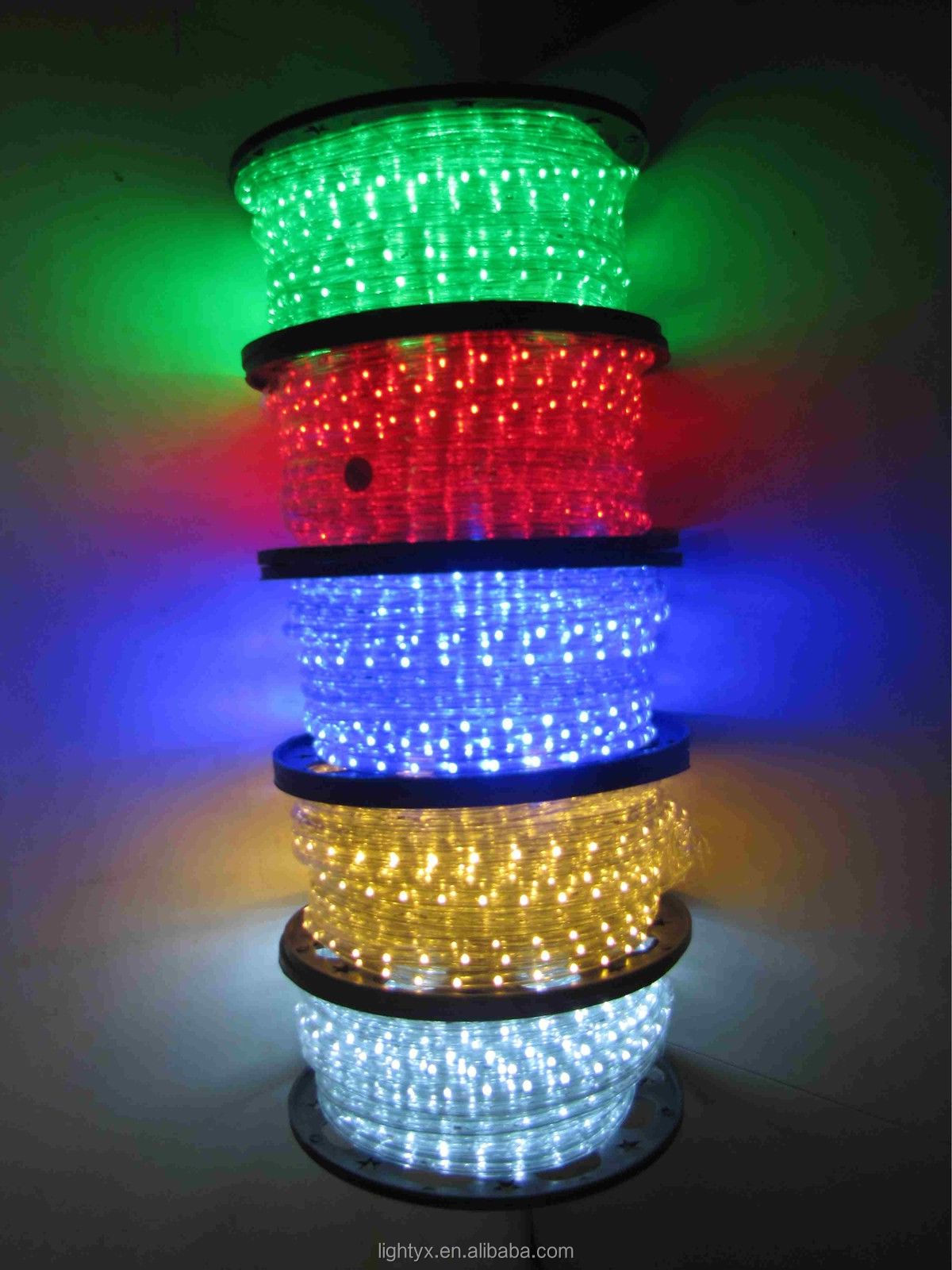 best price outdoor solar led rope lights with ce rohs standa