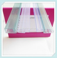 Rectangle Container For TO-220 IC anti static shipping tubes rigid plastic tube