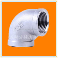 2 inch elbow Ni 8 more than 304 stainless steel pipe fittings with BSPT/NPT/BSP screw thread