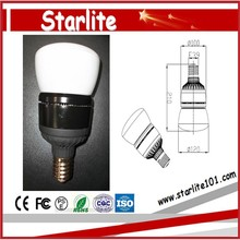 Aluminum+pc Lamp Body Material and CE LVD RoHS Certification led bulb
