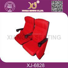 hot sale and best price blue commercial theater seats/china cinema chair