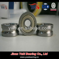 LFR5302-12 KDD NPP R5302-12 ZZ 2RS U type groove track roller Guide pulley bearing