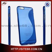 Alibaba Express accesorios para celulares al por mayor,S line Transparente TPU 0.3mm para telefonos moviles iphone 6, 4.7'