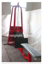 pin loaded long pull / impact fitness equipment / body flex exercise equipment
