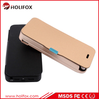 Power Bank Case For Iphone 5 5S With Original 8 Pin Usb Port Li-Polyme Battery Case For Iphone 5 Case With Flip Cover