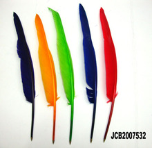 LS-A103 Promotion ballpoint feather quill pen