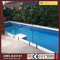 tempered glass deck railing / Australia fencing and gates manufacturer