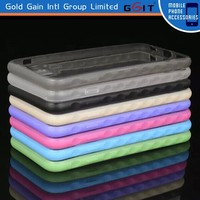Clear Transparent PC Case For iPhone 6 plus TPU Case