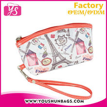 2015 wholesale new design neoprene cosmetic bag
