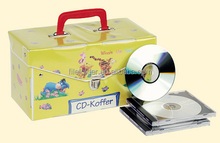 Kids gift CD pvc box