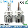 Philips CE RHoS Approved Low Power Consumption 45w 3600lm 4000K HB5 Energy Saving 4X4 Auto 9007 Led Headlight Bulb