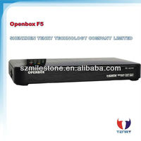2013 Newest Original digital satellite receiver support 1080p Full HD openbox f5