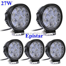 New Car Accessories Good Waterproof LED Work Light fml 27w Lamp