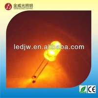 5mm amber led diffuse ( Professional manufacturer )