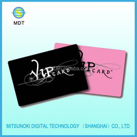 high quality plastic pvc vip card
