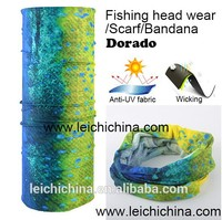Instock Hotsale Anti UV Wicking Dorado Fishing Sports Tube Head Wear Scarf