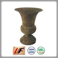 High-End Customize Decorative Vietnam Orchid Plastic Wooden Garden Pot