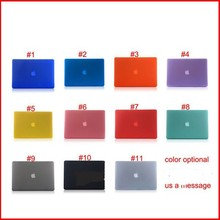 Frosted Plastic Defender Case for For Macbook AIR 13""