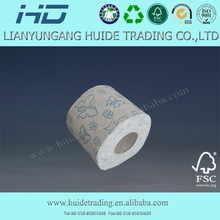Continued hot 3 ply toilet paper 400 sheets toilet tissue single wrap