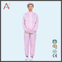 latest ladies suit design ,high quality esd cleaning smocks