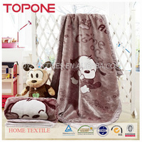 Hot sales 100% polyester a thin blanket of summer