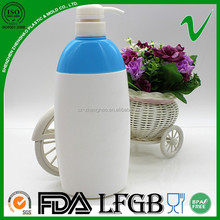 promotional soap free sample HDPE plastic bottle with pump dispenser