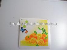 orange,rectangle,fruite coaster
