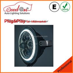 Qeedon 2015 updated 5700K-6000K car led headlight h7 h4 used for harley and davidson motorcycles