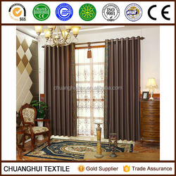 high quality 2 Panels luxury european style blackout window curtains and drapes