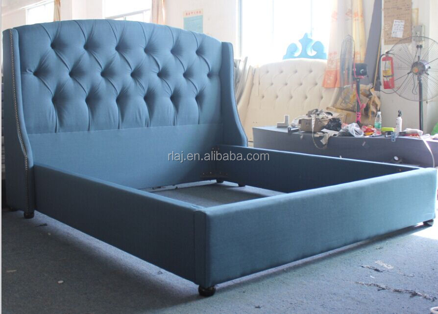 Modern Italian Bedroom Furniture Set Cheap King Size Black White Soft Synthetic Pu Genuine