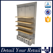 Hot sale durable use cabinet clothes rack for retail store