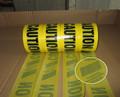 PE Woven tejido tráfico barrera cinta, cautela cinta, preventiva cinta