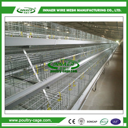 Low carbon steel wire (ISO9001) chicken breeding cage