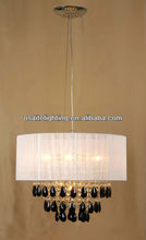 2012 hot sale new crystal modern pendent lamp