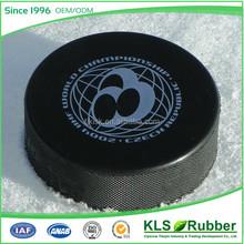beautiful rubber ice hockey with custom logo