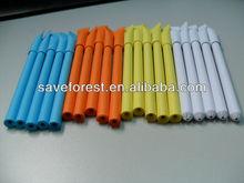 bolígrafo hecho de papel, para la promoción