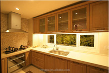 Factory directly sale competitive price food cabinet led light for home/ shop slim/trigonal shape CE ROHS UL FCC