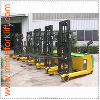 MIMA 1.0 -1.5 ton three Wheel Electric Forklift Truck with AC motor, 3 wheel battery