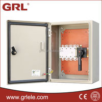 Waterproof IP65 Iron electric Power Distribution outdoor cable box