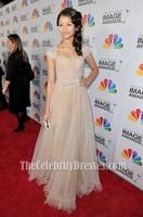 Zendaya Coleman Evening Gown NAACP Image Awards 2012 Red Carpet Celebrity Dresses
