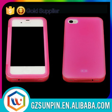 Factory price protective tpu flip cover for iphone 4